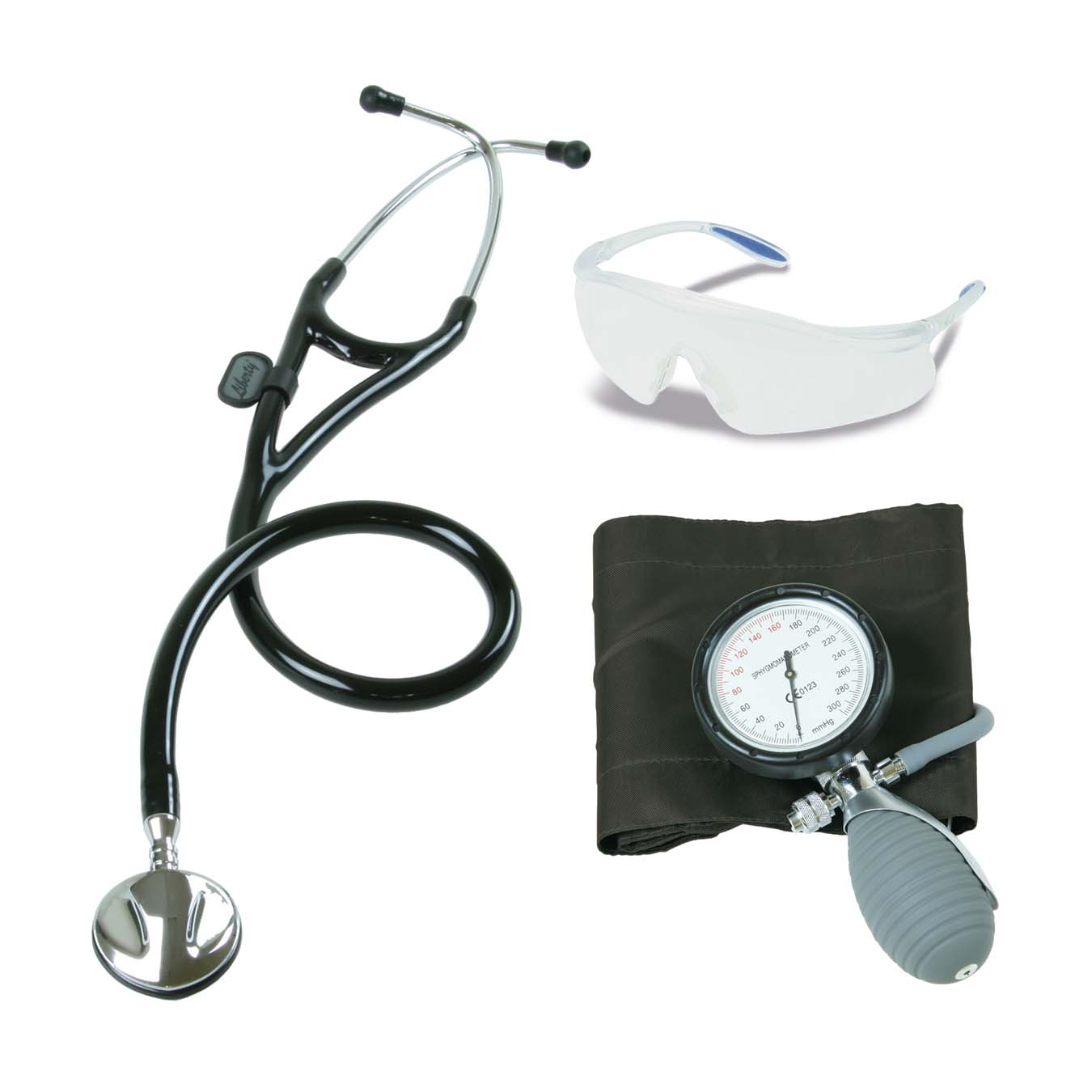 NKACOCAR3-1_Paramedic-Kit-Black-with-Cardiology-Stethoscope_ACU-2017_v1