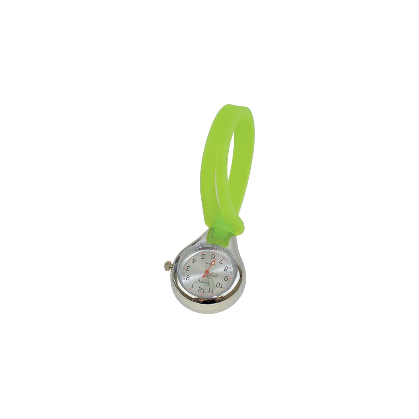 NWSGHS_1_Nurses-Silicone-Button-Watch-Green